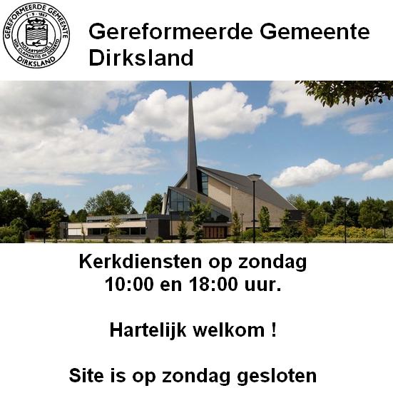 Gereformeerde Gemeente Dirksland